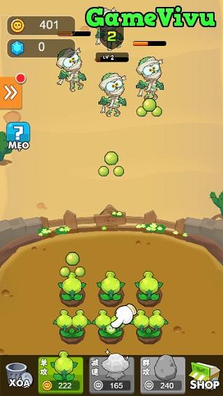 game Trồng cây bắn ma 3 hình ảnh 2