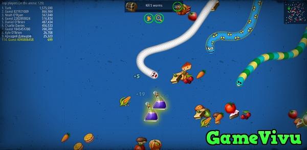 game Vùng giun đất.io hình ảnh 1