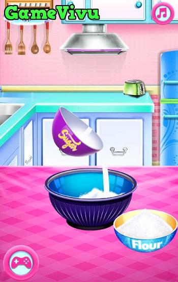 game Ariel làm bánh cưới hình ảnh 1