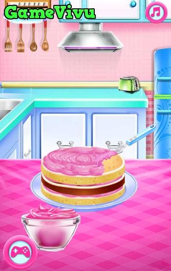 game Ariel làm bánh cưới hình ảnh 2