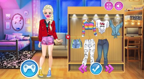 game Công chúa đeo khẩu trang hình ảnh 1