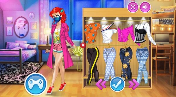 game Công chúa đeo khẩu trang hình ảnh 2