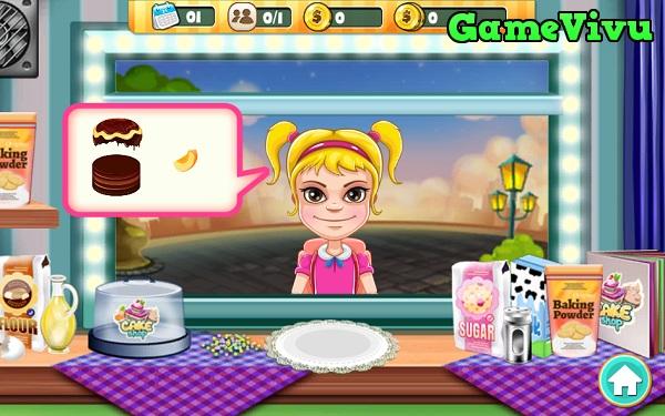 game Cửa hàng bánh sinh nhật hình ảnh 1