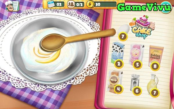 game Cửa hàng bánh sinh nhật hình ảnh 2