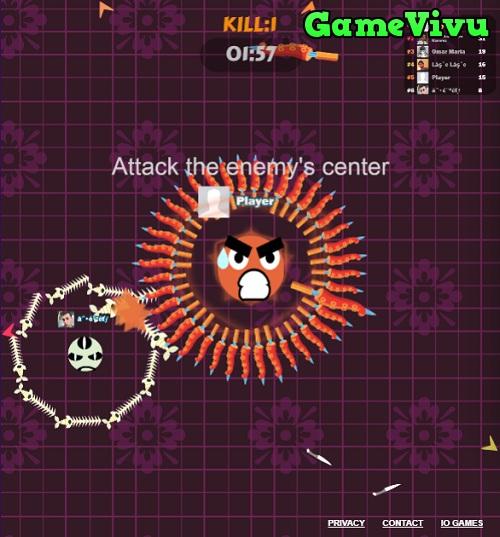 game Cuộc chiến dao kéo 2 hình ảnh 1