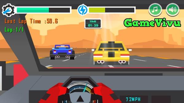 game Đua xe Blocky hình ảnh 1