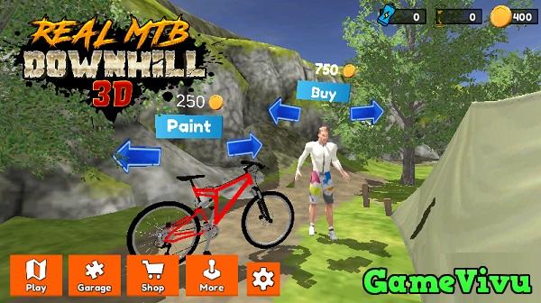 game Đua xe đạp đổ đèo hình ảnh 2