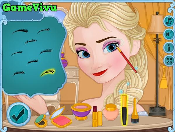 game Elsa trang điểm 3 hình ảnh 1
