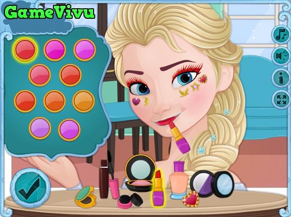 game Elsa trang điểm 3 hình ảnh 2