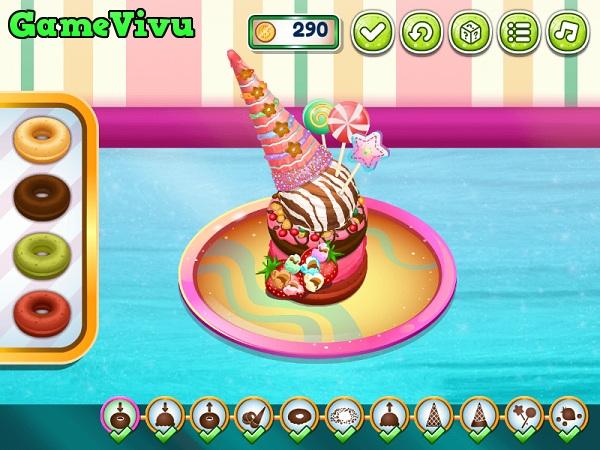 game Làm bánh Donut kem tươi hình ảnh 3