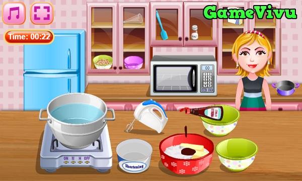 game Làm bánh socola Đức hình ảnh 1