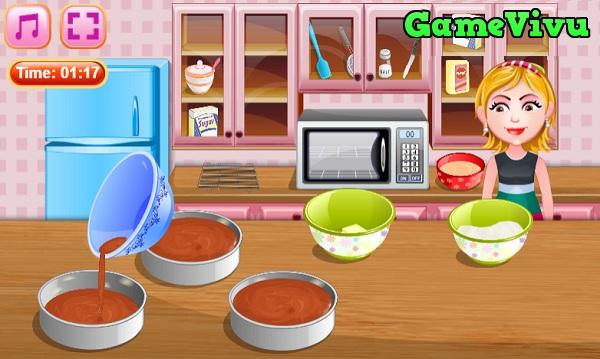 game Làm bánh socola Đức hình ảnh 2