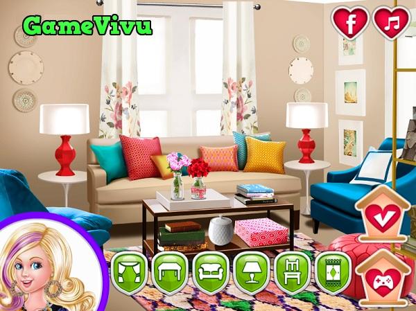 game Ngôi nhà mơ ước của Barbie hình ảnh 1