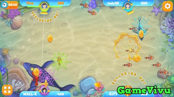 game Bắn cá online trên điện thoại máy tính