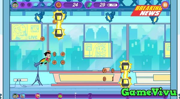 game Biệt đội thiếu niên Titan: Chạy ngay đi hình ảnh 1