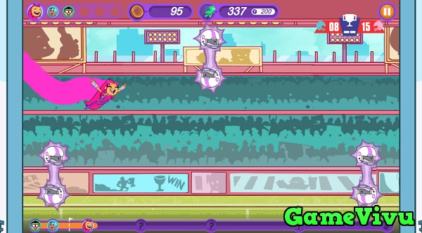 game Biệt đội thiếu niên Titan: Chạy ngay đi hình ảnh 2