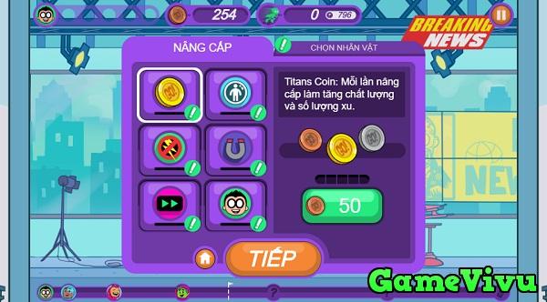 game Biệt đội thiếu niên Titan: Chạy ngay đi hình ảnh 3