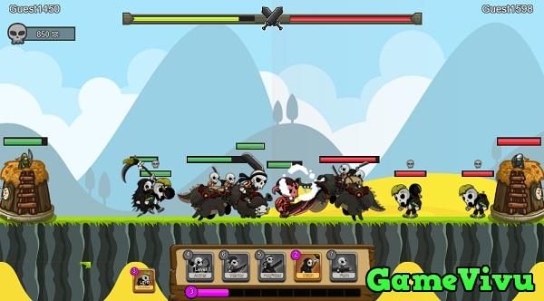 game Binh đoàn quái vật hình ảnh 1