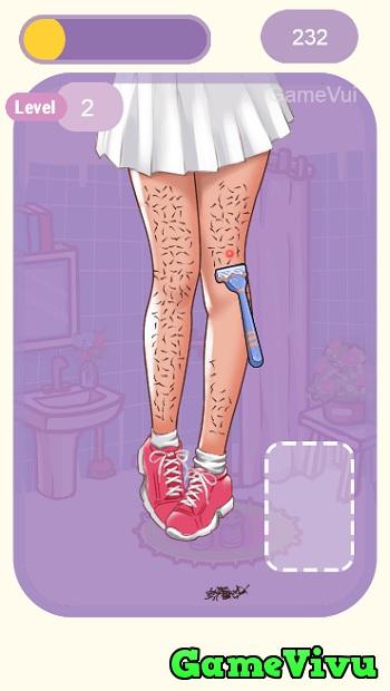 game Cạo lông chân hình ảnh 2