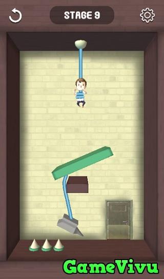 game Cắt dây cứu người em trai
