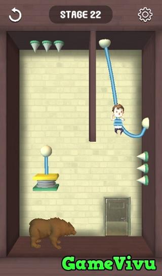 game Cắt dây cứu người rescue cut