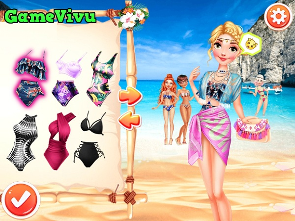 game Công chúa du lịch biển hình ảnh 2