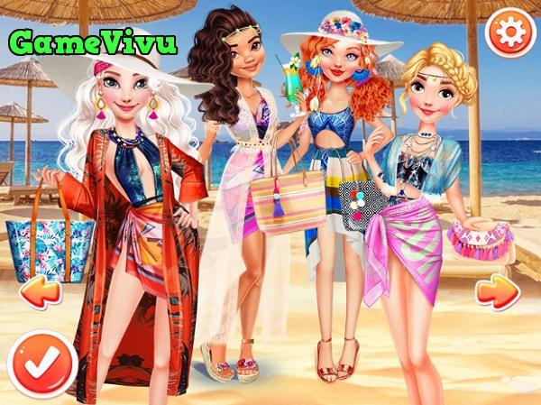 game Công chúa du lịch biển hình ảnh 3