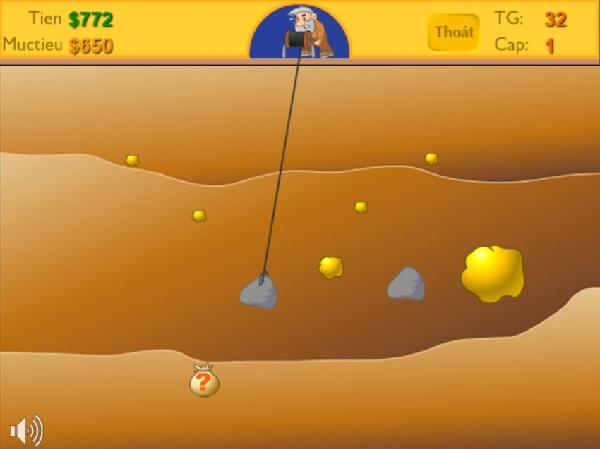 game Đào vàng cổ điển miễn phí