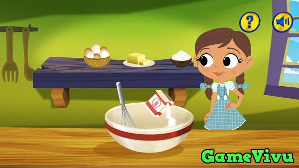 game Dorothy làm bánh ma thuật hình ảnh 1