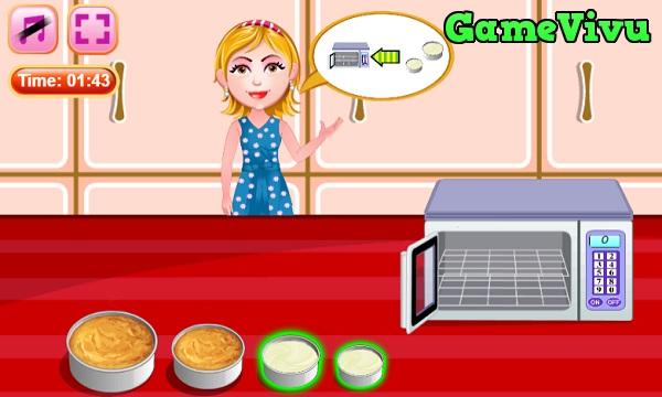 game Làm bánh kem đám cưới hình ảnh 2