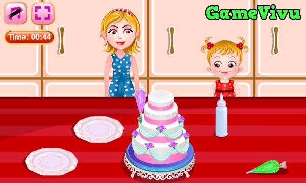 game Làm bánh kem đám cưới hình ảnh 3