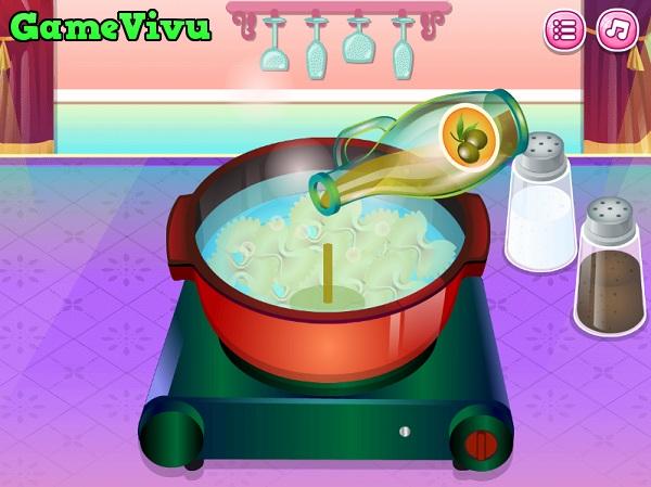 game Làm mì Pasta hình ảnh 1