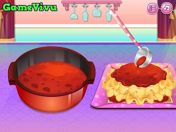 game Làm mì Pasta hình ảnh 2
