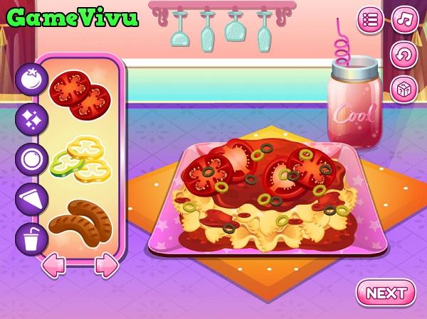 game Làm mì Pasta hình ảnh 3