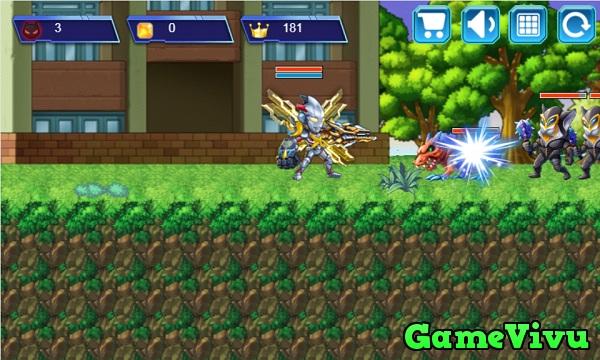 game Siêu nhân điện quang 2 hình ảnh 1