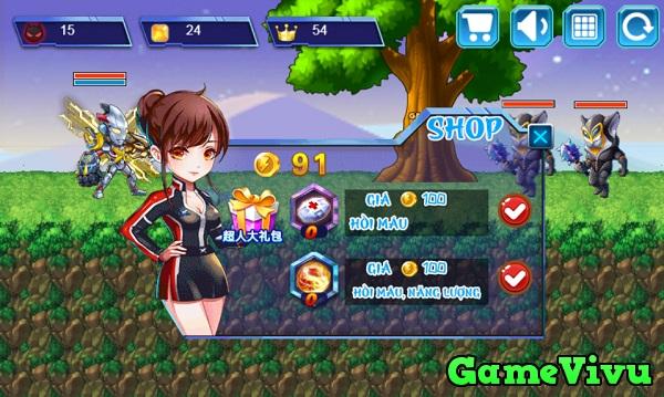 game Siêu nhân điện quang 2 hình ảnh 2