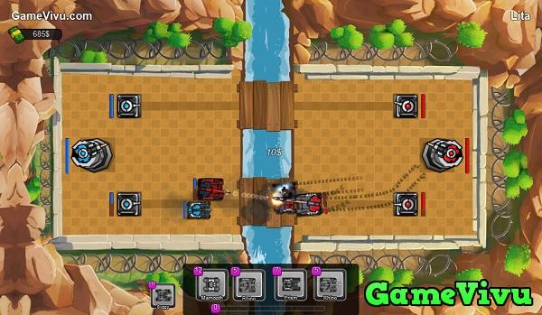 game Trận địa xe tăng 3D hình ảnh 1