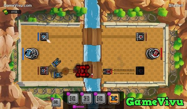 game Trận địa xe tăng 3D hình ảnh 3