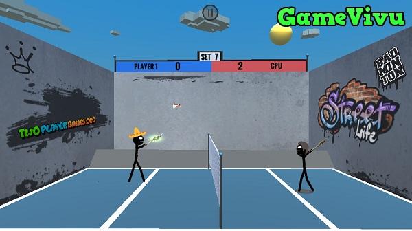 game Cầu lông 2 người chơi