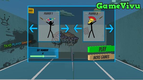 game Cầu lông 2 người hình ảnh 1