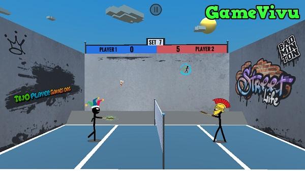 game Cầu lông 2 người hình ảnh 2