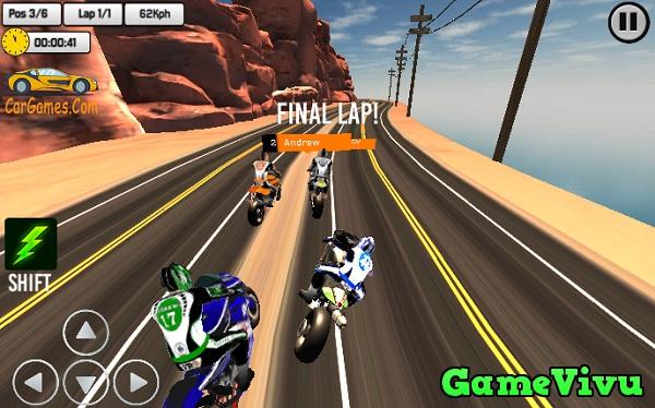 game Giải đua xe moto thật 3D hình ảnh 1