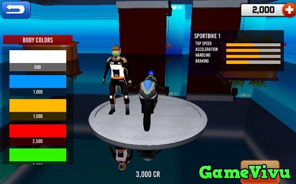 game Giải đua xe moto thật 3D hình ảnh 2