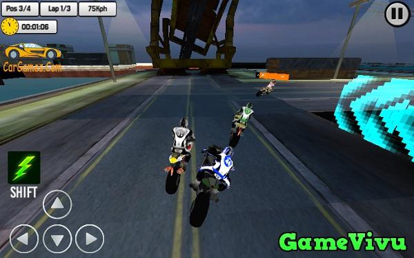game Giải đua xe moto thật 3D hình ảnh 3
