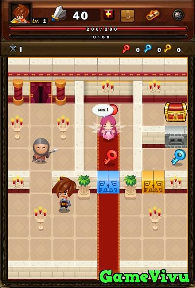 game Hiệp sĩ phiêu lưu ký hình ảnh 1