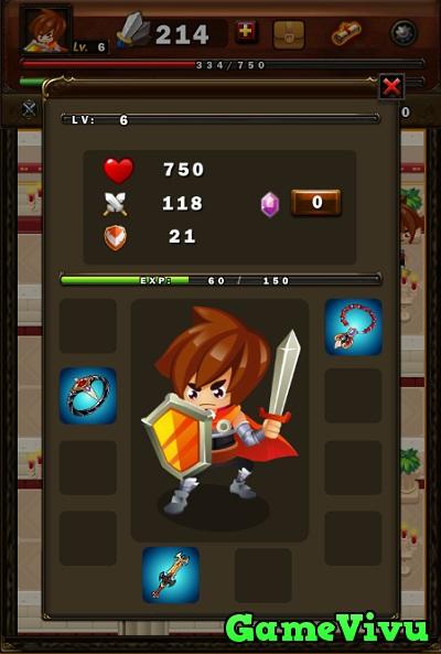 game Hiệp sĩ phiêu lưu ký hình ảnh 3