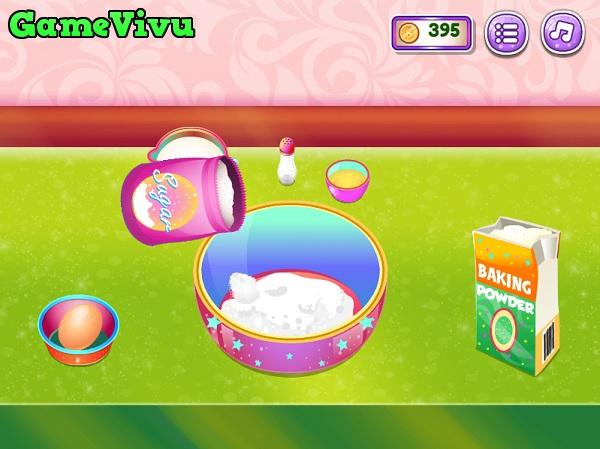 game Làm bánh pancake kem trái cây hình ảnh 1