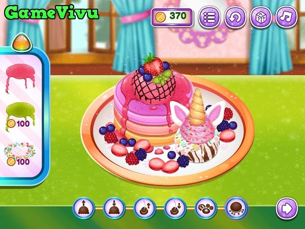 game Làm bánh pancake kem trái cây hình ảnh 3