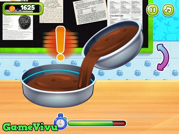 game Làm bánh sinh nhật socola hình ảnh 1