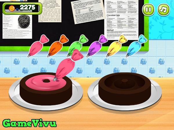 game Làm bánh sinh nhật socola hình ảnh 2